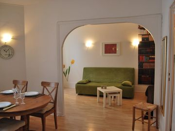 5th Arrondissement Latin Quarter apartment rental - Living Room