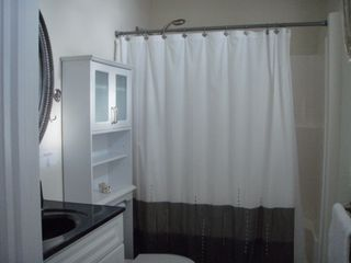 North Wildwood condo photo - Private Master Bath On 1st Floor: Low Lip Shower; Ocean View Window