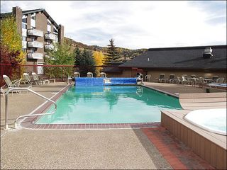Steamboat Springs condo photo - Pool View close up (Fall 2007)
