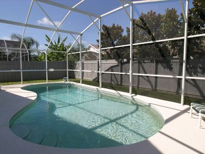 30 foot S/SW facing Pool - great for the long hot summers!