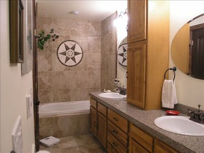 Breckenridge condo rental - a jacuzzi tub at the other end to soak away the days activities