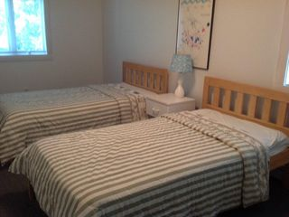 Third bedroom also has 2 twin beds