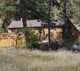 Estes Park lodge photo - Large Guest Cabin with Deck