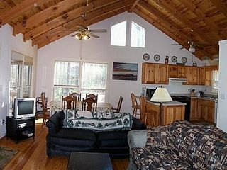 Blue Ridge cabin photo - Living room