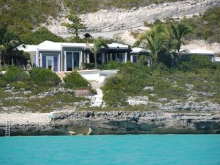 Providenciales - Provo villa photo - La Sirene from the ocean