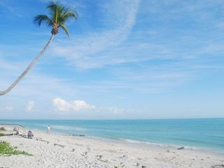 Sanibel Island condo photo - The beautiful beach directly in front of our condo!