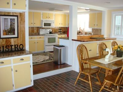 Barnstable estate rental - The Bistro Kitchen ! What a Pleasure !