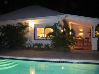 Orient Bay villa photo - View by night