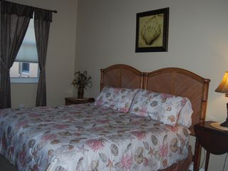 Clearwater Beach condo photo - Second Bedroom/(King)/TV/Clock-Radio
