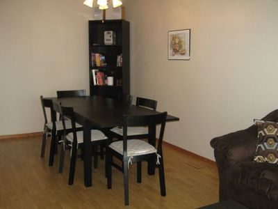 Calgary house rental - Dining Room With Leaf Seats 10