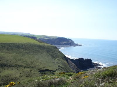 The North Cornwall coastal path in all its glory