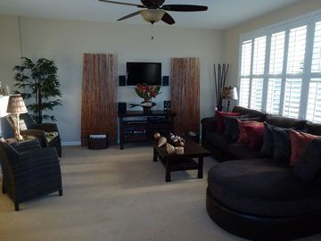 Princeville townhome rental - Living room
