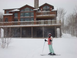Bretton Woods house photo - ski on and ski off
