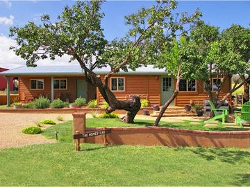 Sonoita house rental - 'The Homestead' House at Open Cross Ranch / 1 of 2 private guest houses