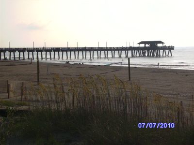 Tybee Island cottage rental - Close by pier