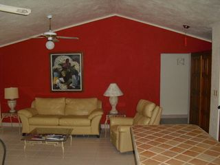Cabo San Lucas condo photo - Pleanty of room to kick back, or make the couch into a 3rd bed, queen size.