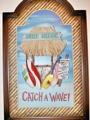 Galveston condo photo - Catch a wave at our Surf Shack!