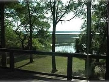 Beaufort house rental - view from the deck