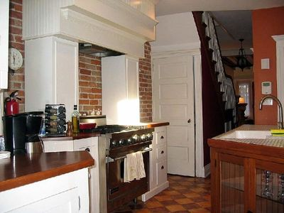 Bright Airy Kitchen with top of the line appliances
