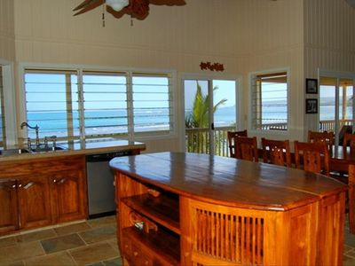 Ocean View from the Kitchen and Dining Room.