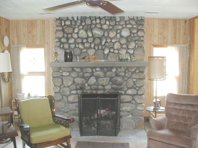 Frankfort cottage rental - Great Room Sitting Area