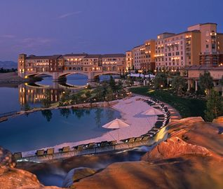 Las Vegas apartment rental - Exotic Lagoon From Top Of The Waterfall