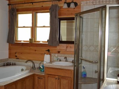 Master Bath with Tub for Two