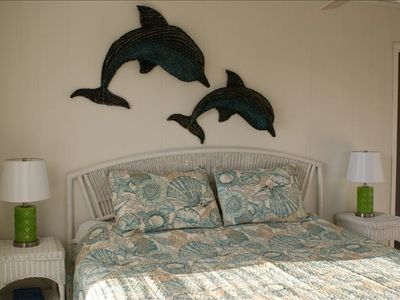 St George Island house rental - king size master