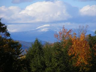 Madison house photo - A snow covered Mount Washington