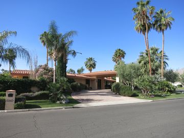 Palm Desert house rental - Front of Home located on 1/2 acre corner lot