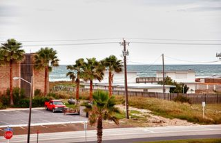 South Padre Island condo photo - View of Gulf from 2nd Floor front Balcony