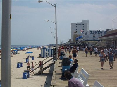Beautiful Rehoboth Beach and the boardwalk.