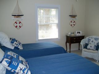 Murrells Inlet cottage photo - Our guest bedroom is spacious with lots of natural light.
