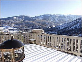 Snowmass Village house photo - Large Deck with Views
