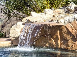 Castaic house photo - Waterfall