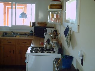 Lake Willoughby cottage photo - kitchen