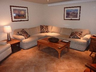 Teton Village condo photo - Lower Level Family Room, Hi-Def Premium Cable TV, Radiant Heat, Six Boot Driers