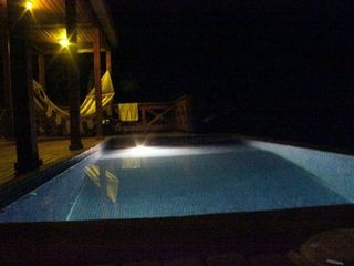Bahia Gigante villa photo - Take a dip in the pool night or day