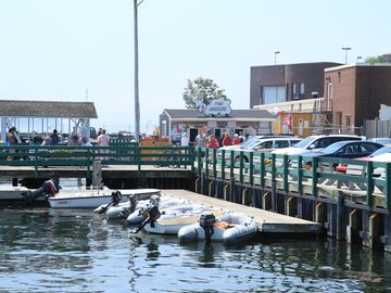 Town Dock: great place to relax and have ice cream or lobster roll