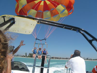 Parasailing on the Gulf