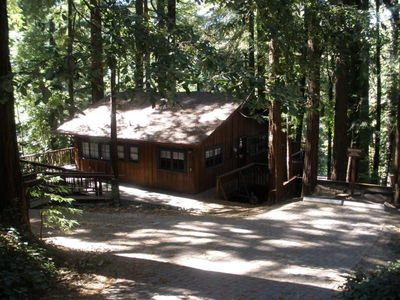"Cabin in Mt. Hermon (Felton) "" The Tree House"""