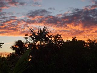 Elbow Cay and Hope Town villa photo - Sunset from the back deck. We've had a great day!