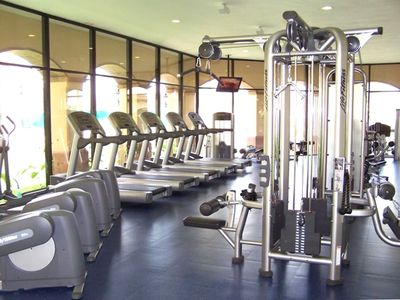 Full gym with state of the art equipment