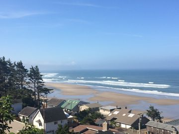Oceanside house rental - Ocean View from Tree Deck