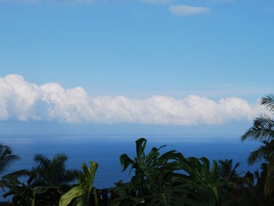 One of many views to the ocean from lanai and pool.