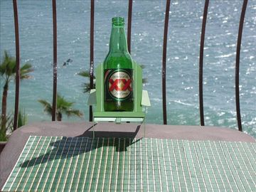 Cerveza & a comfortable chair