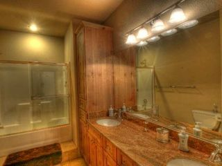 Estes Park house photo - One of the Lower Level Bathrooms
