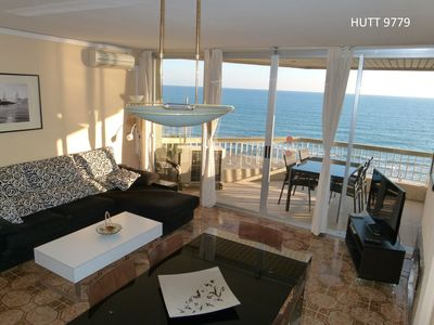 IN CALAFELL; MAGNIFICENT APARTMENT IN FRONTLINE (HUTT9779) .Free WiFi