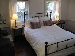 Wellfleet farmhouse photo - Captain's Bedroom