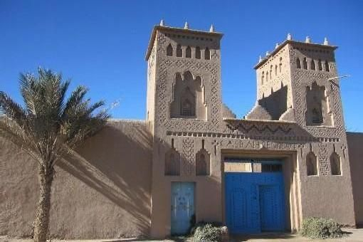 Rooms and breakfast homestay in the palm of Ouarzazate